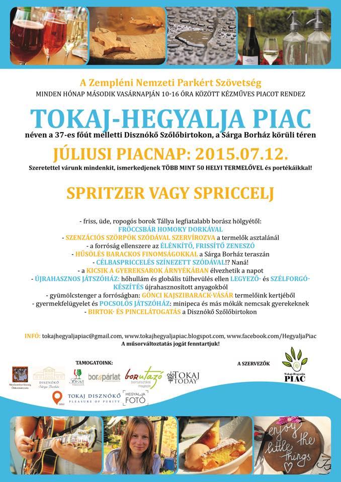 Tokaj-Hegyalja Piac 2015.07.12.